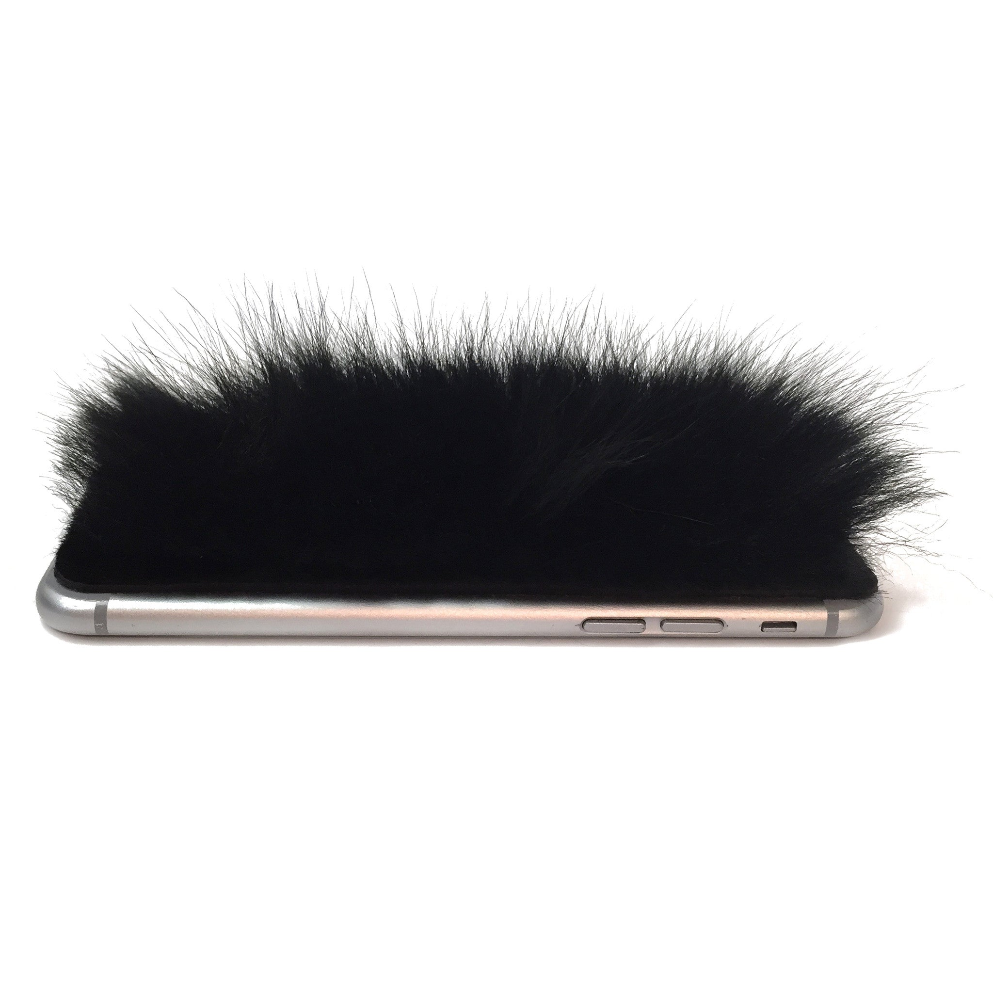 Black Sheep Fur iPhone 8 Leather Skin