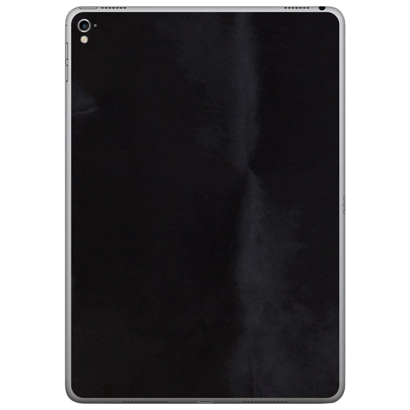 Black Pony Hair iPad Pro Leather Skin