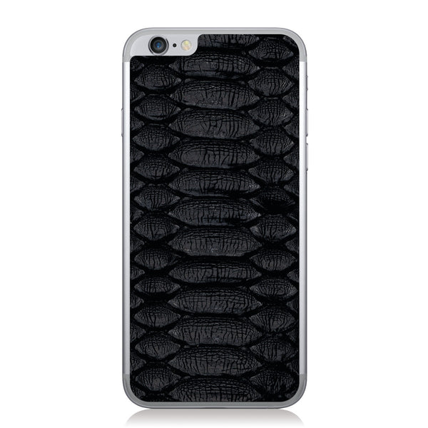 Black Python iPhone 6/6s Leather Skin