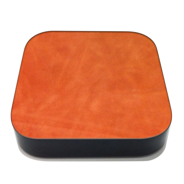 Brandy Apple TV Leather Cover