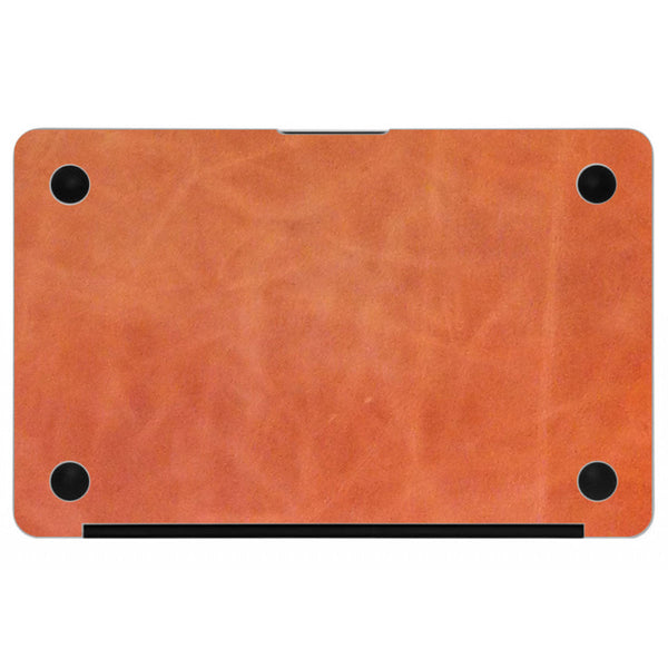 Brandy MacBook Leather Bottom Cover