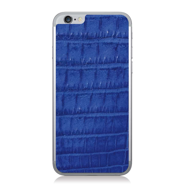 Cobalt Crocodile iPhone 6/6s Leather Skin