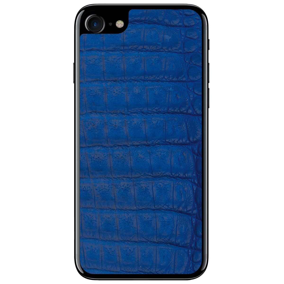 Cobalt Crocodile iPhone 8 Leather Skin