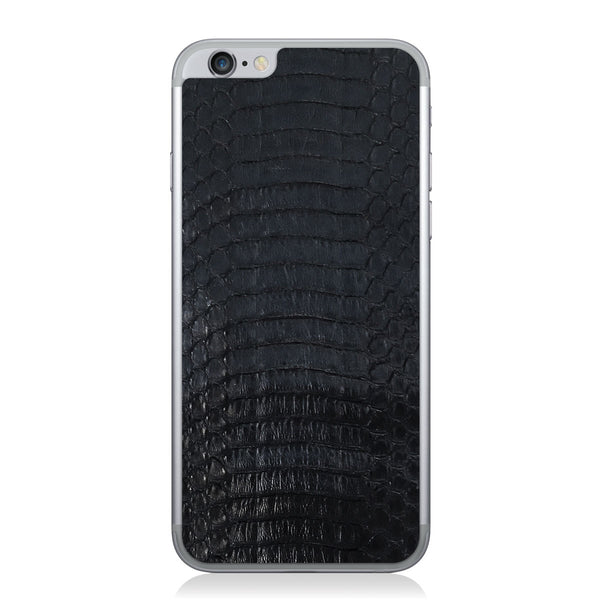Black Copperhead iPhone 6/6s Leather Skin