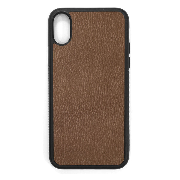 Auburn iPhone X Leather Case