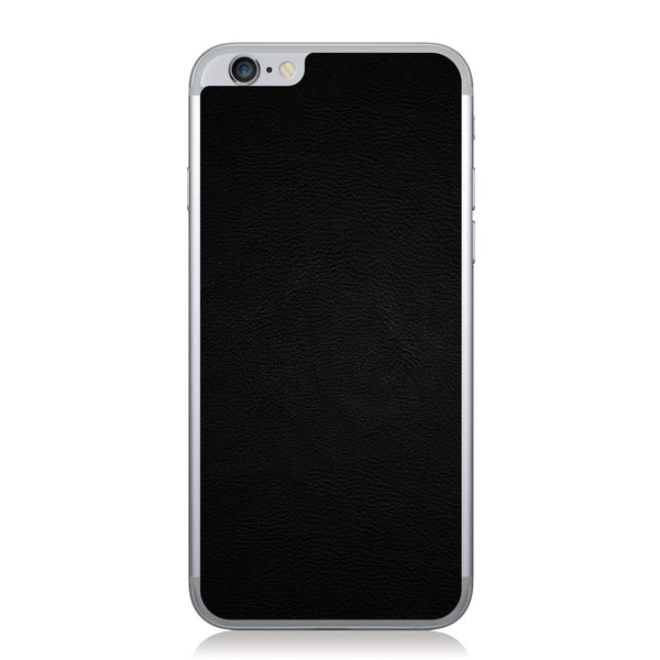 Black iPhone 6/6s Leather Skin