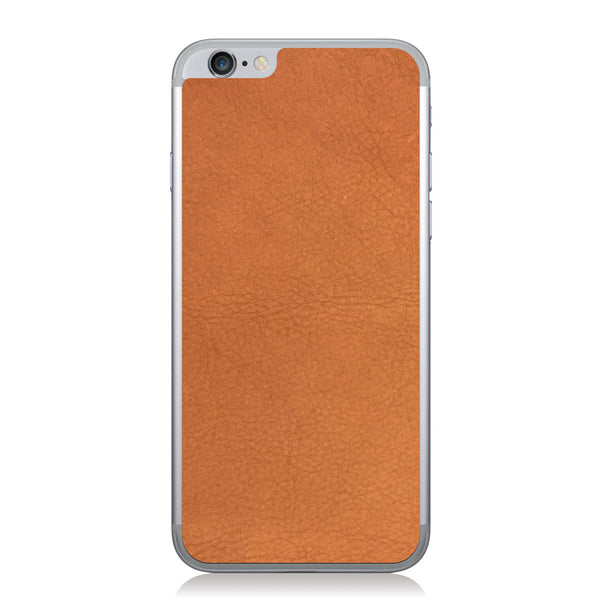 Dark Tan iPhone 6/6s Leather Skin