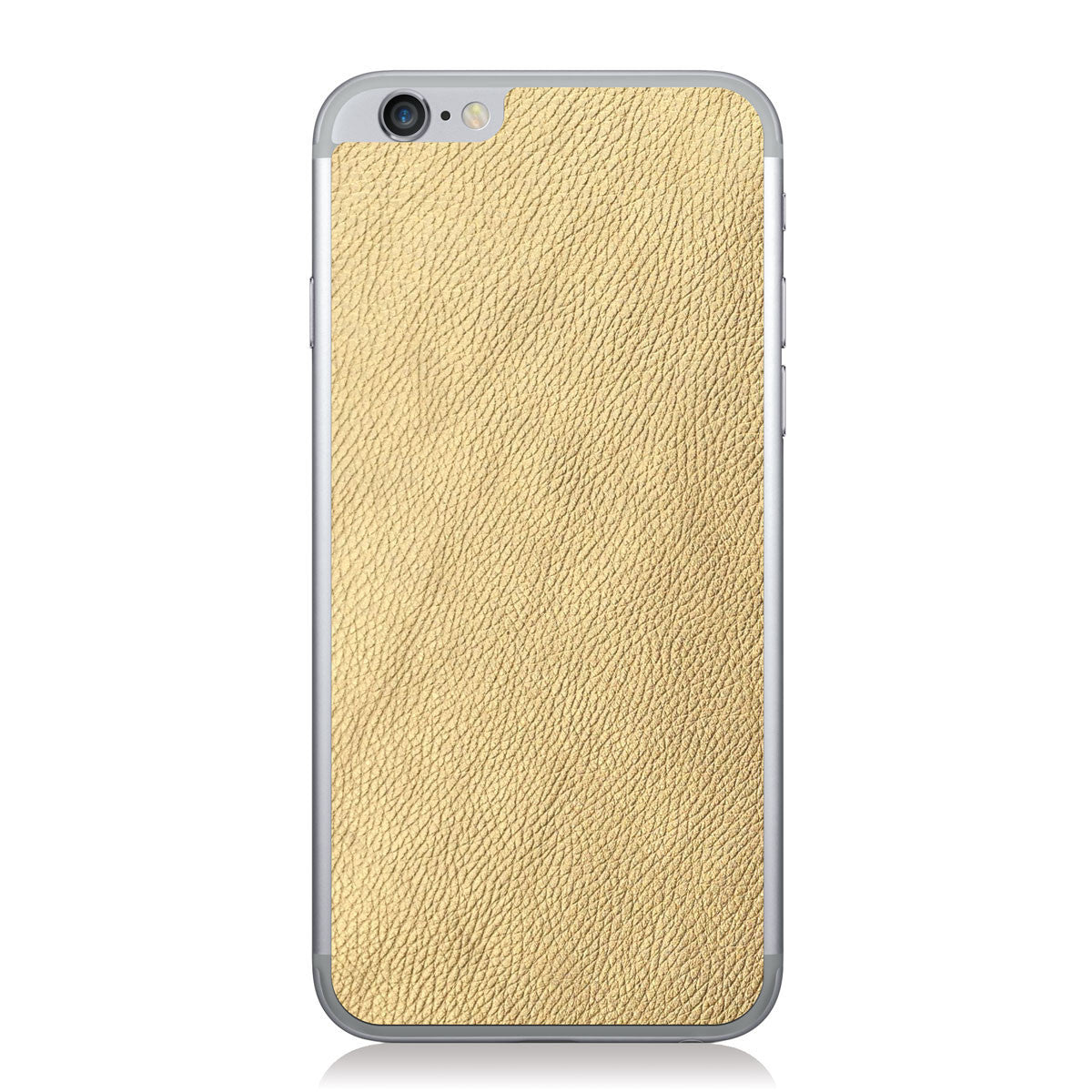 Gold iPhone 6/6s Leather Skin