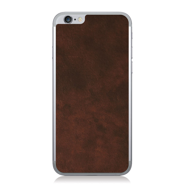 Oil Stained Brown iPhone 6/6s Leather Skin