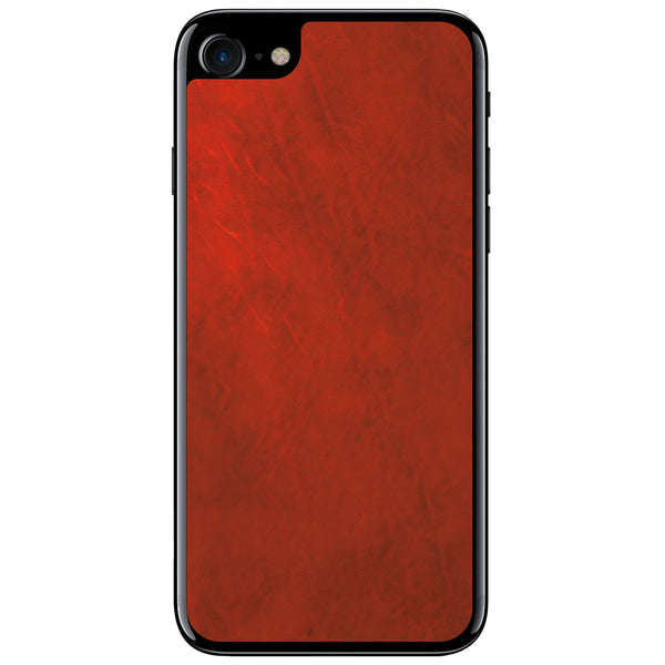Crimson iPhone 7 Leather Skin