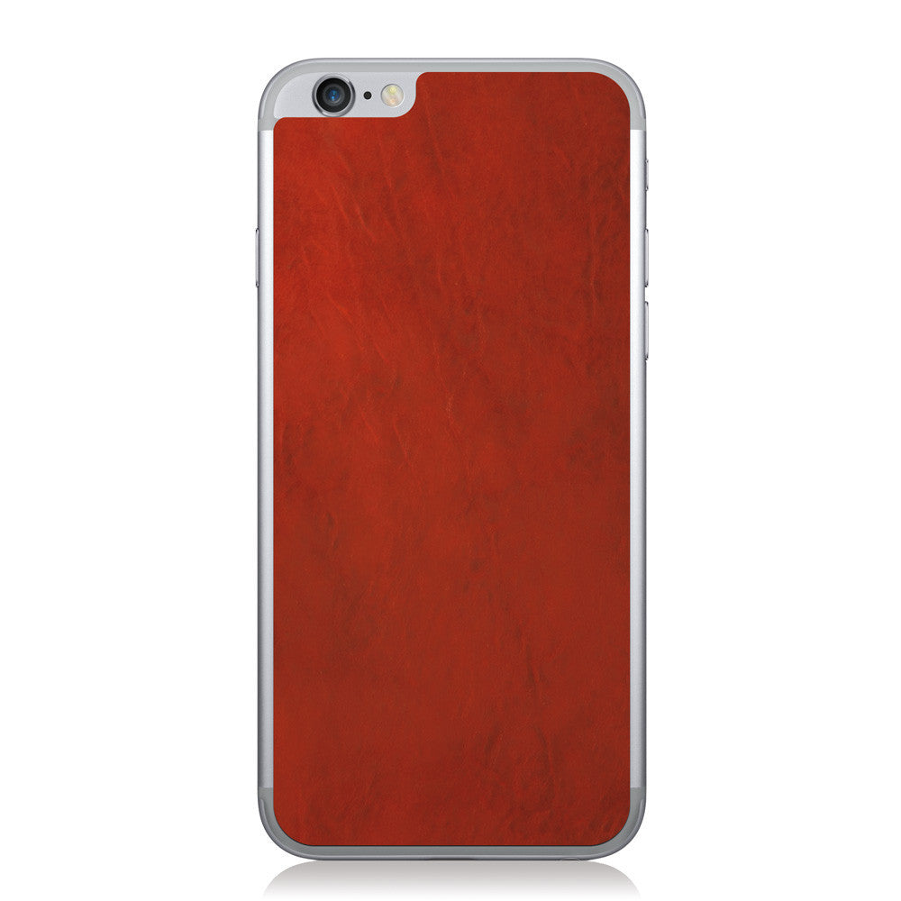 Crimson iPhone 6/6s Leather Skin