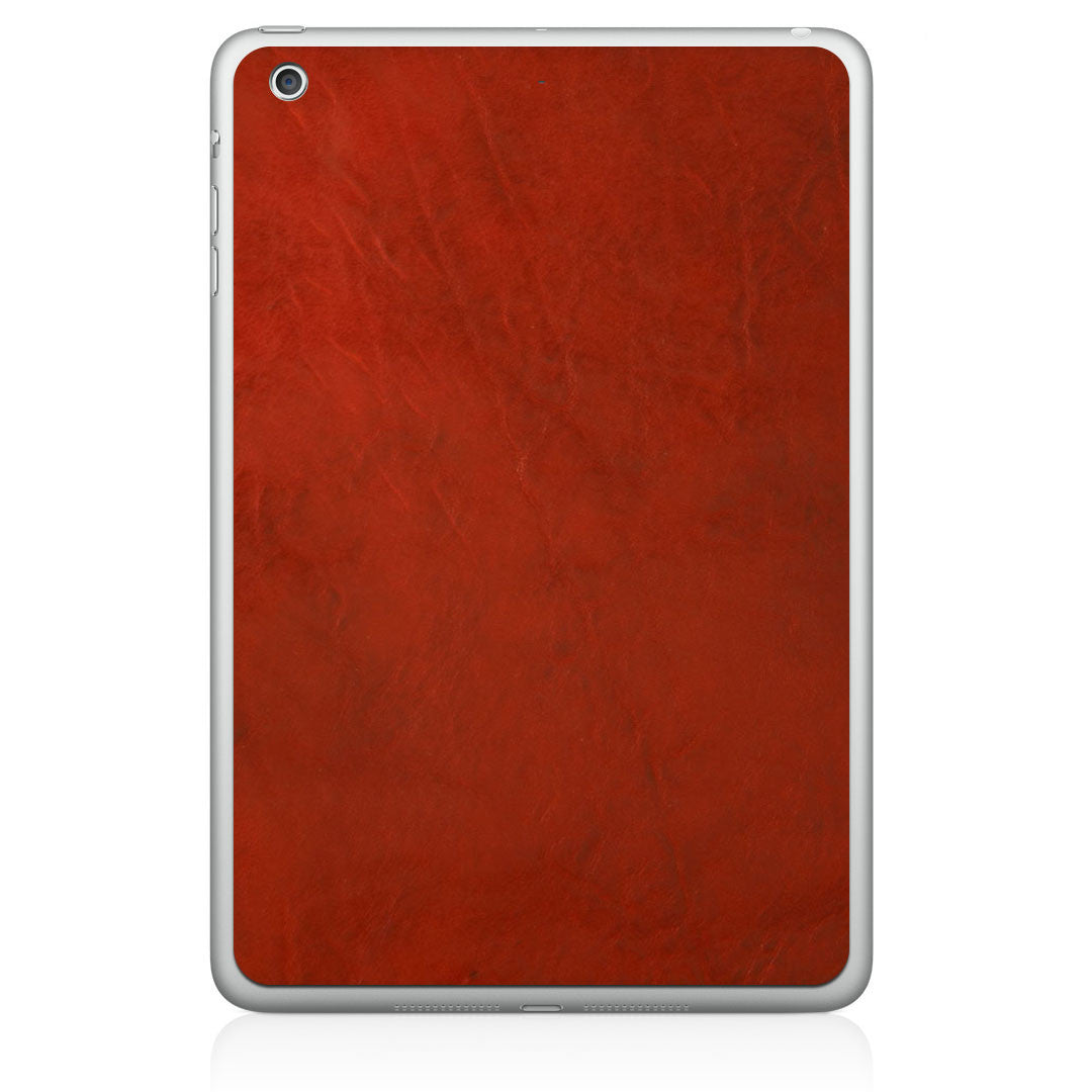 Crimson iPad Air Leather Skin