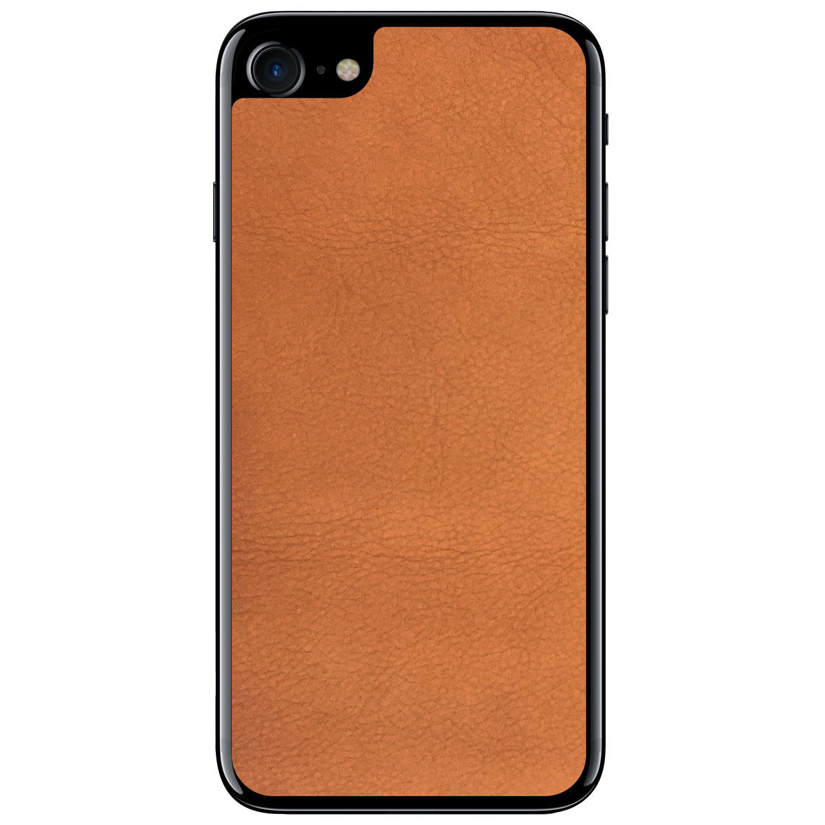 Dark Tan iPhone 7 Leather Skin
