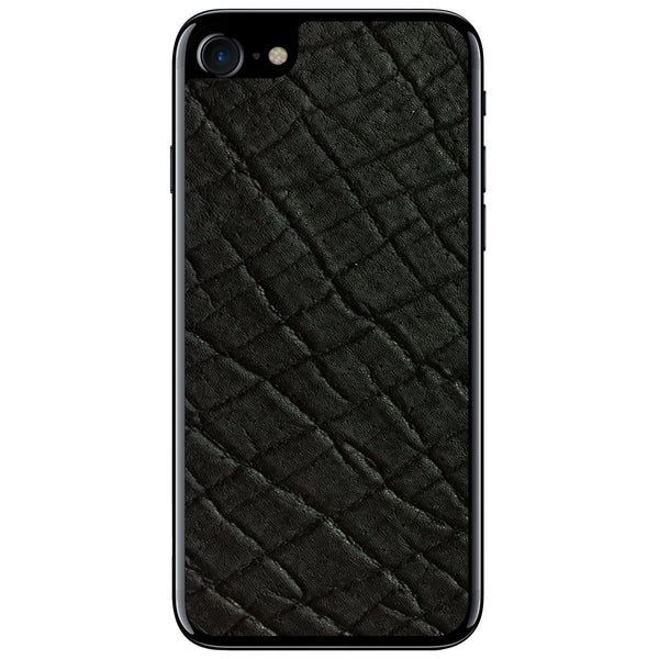 Black Elephant iPhone 8 Leather Skin