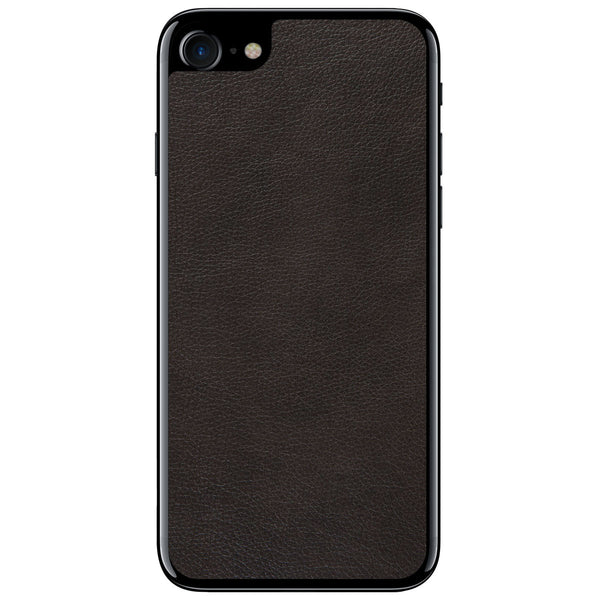 Espresso iPhone 8 Leather Skin