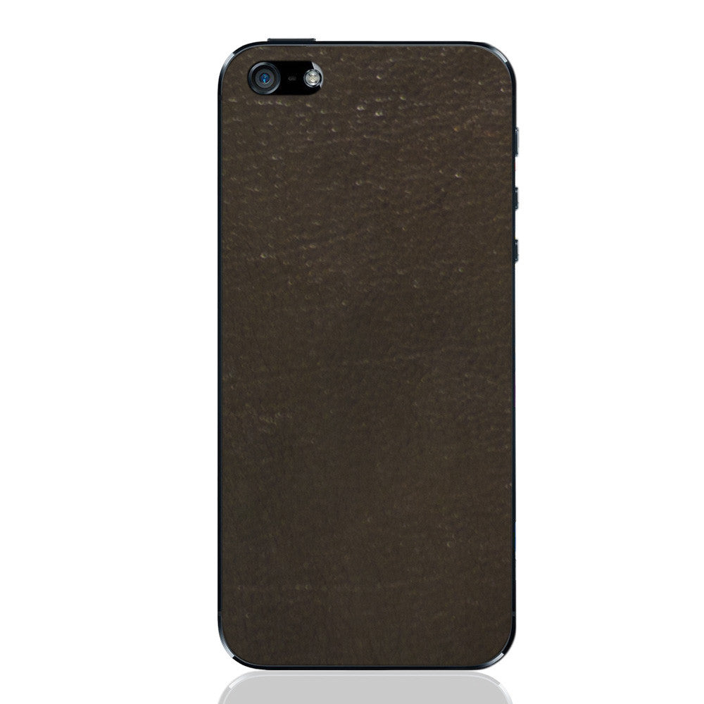 Espresso iPhone 5 - 5S - SE Leather Skin