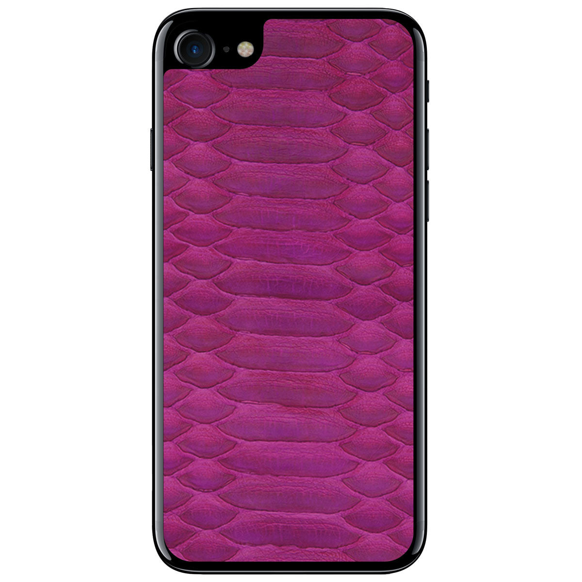 Fuchsia Python iPhone 8 Leather Skin