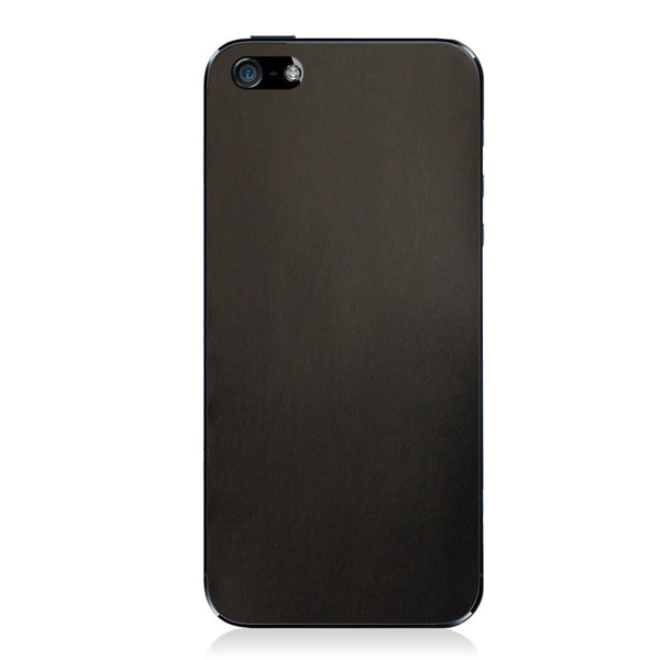 Gloss Black iPhone 5 - 5S - SE Shell Cordovan Skin