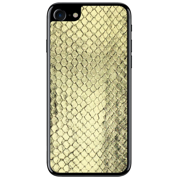 Gold Foil Anaconda iPhone 7 Leather Skin