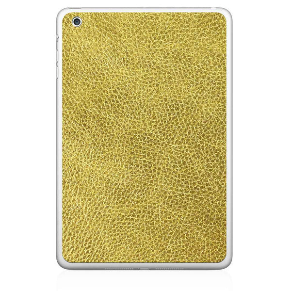Gold iPad Pro Leather Skin