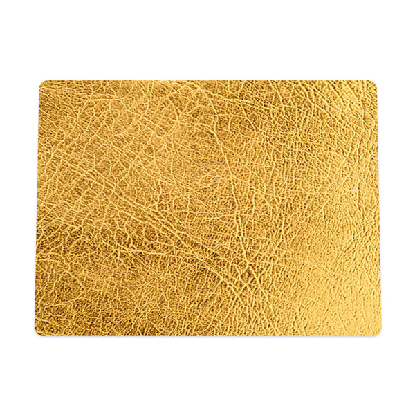 Gold Leather Mouse Pad