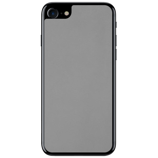 Gray iPhone 8 Leather Skin