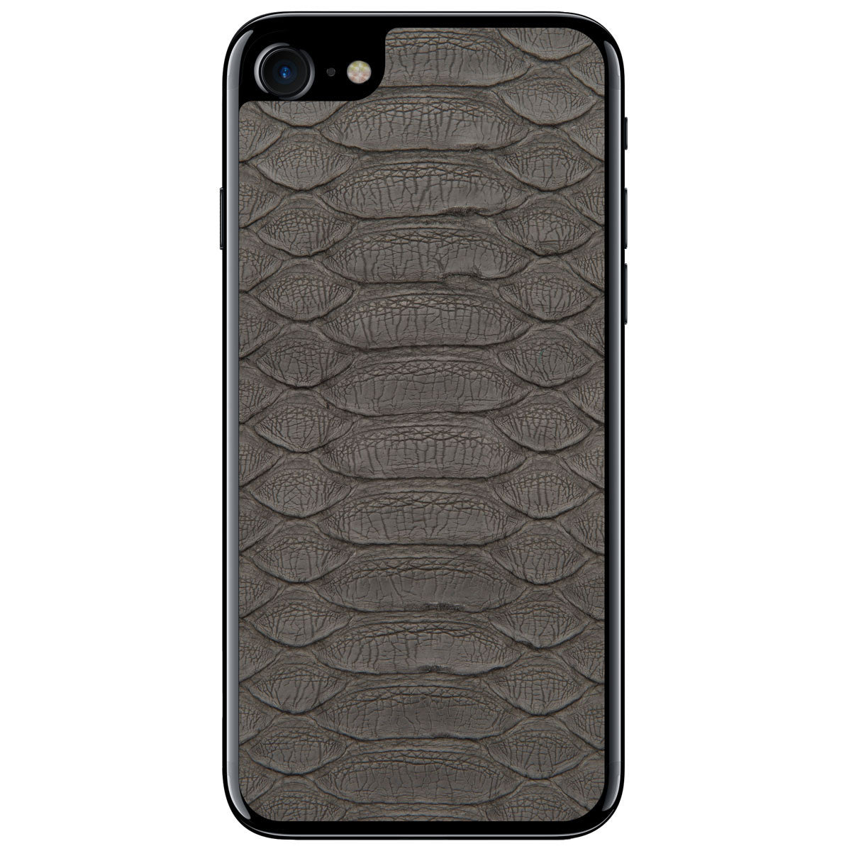 Gray Python iPhone 7 Leather Skin