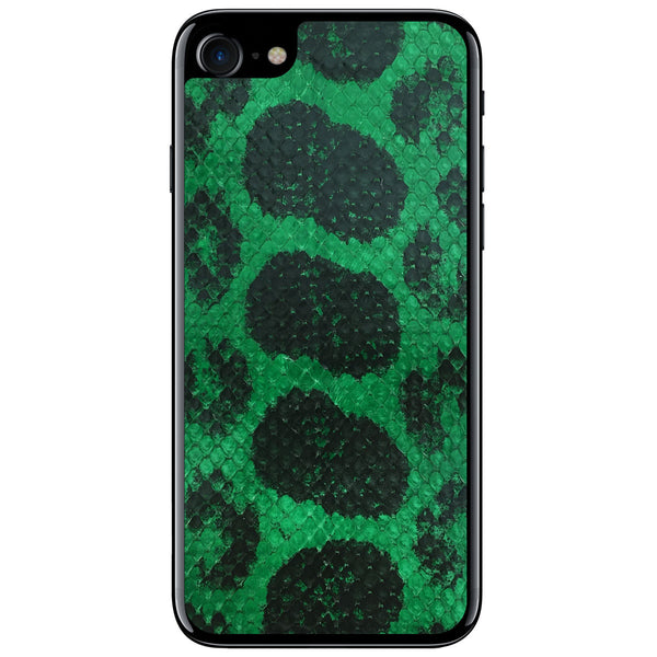 Green Anaconda iPhone 7 Leather Skin