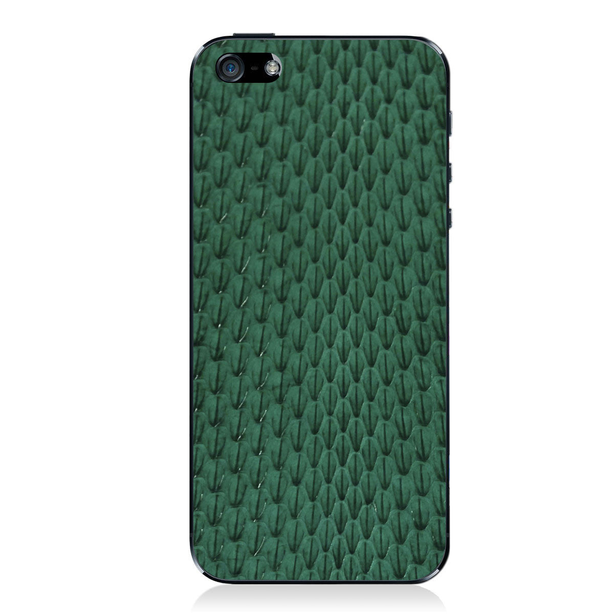 Evergreen Whip Snake iPhone 5 - 5S - SE Leather Skin