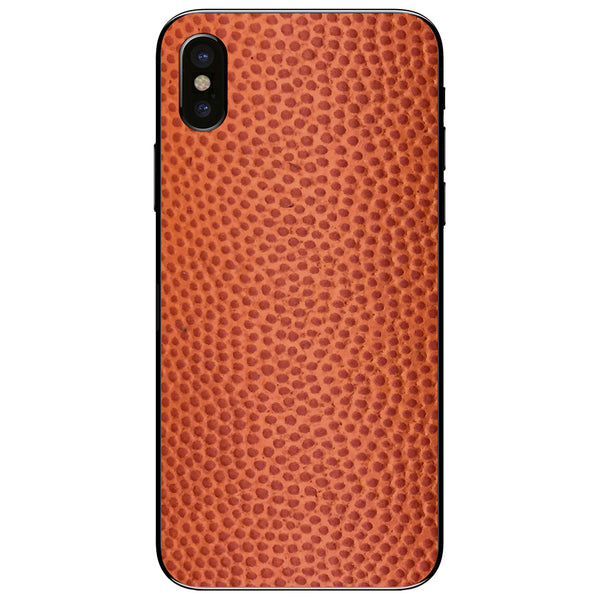 Horween Basketball iPhone XS Leather Skin