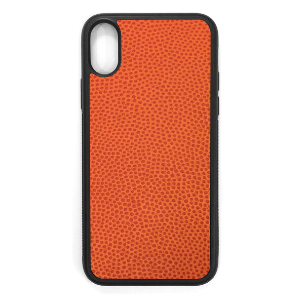 Horween Basketballl iPhone XS Leather Case