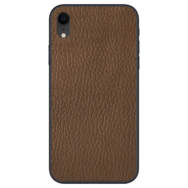 Auburn iPhone XR Leather Skin
