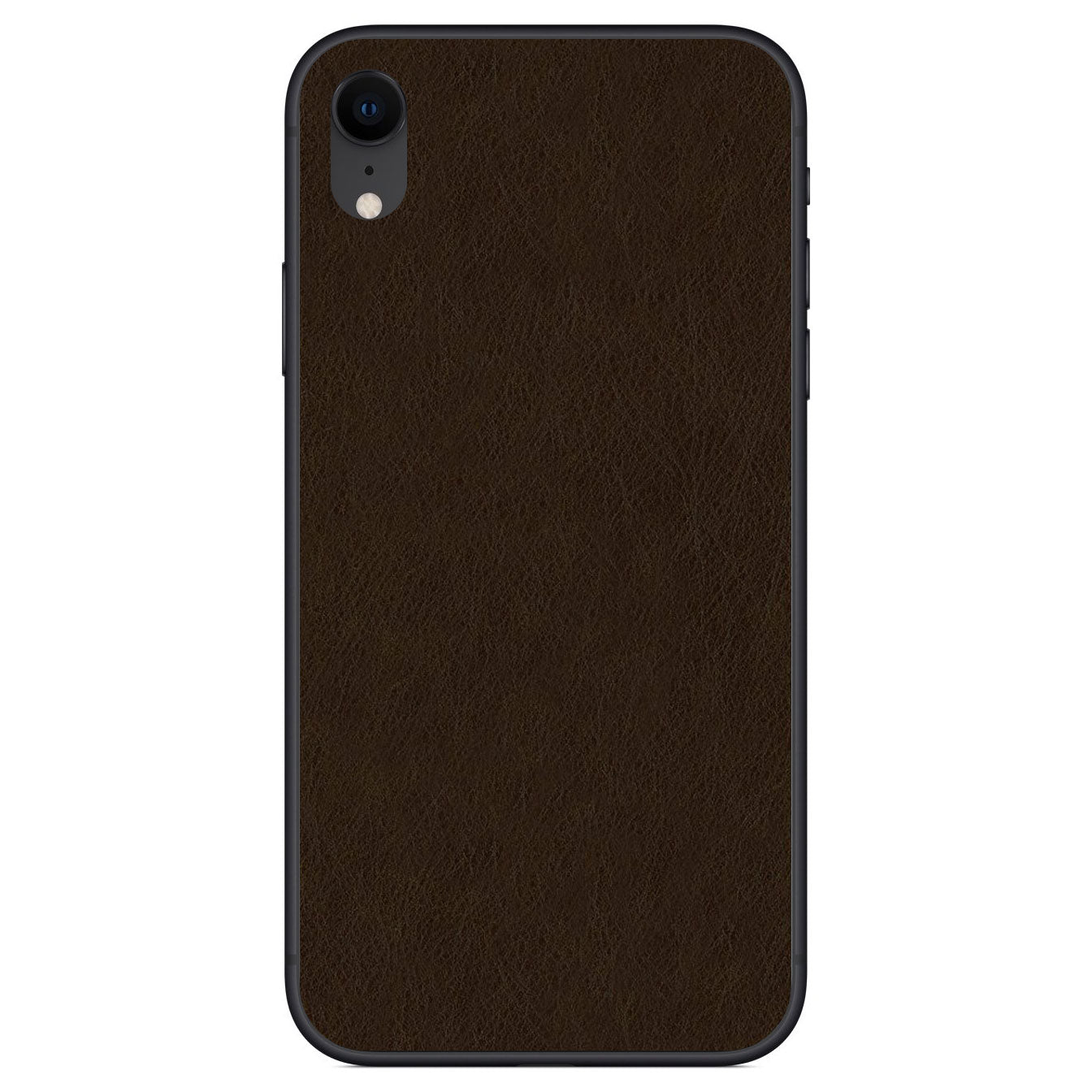 Espresso iPhone XR Leather Skin