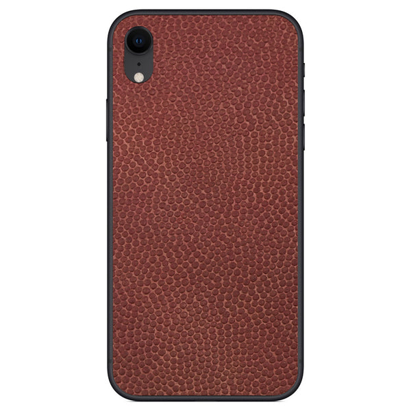 Horween Football iPhone XR Leather Skin
