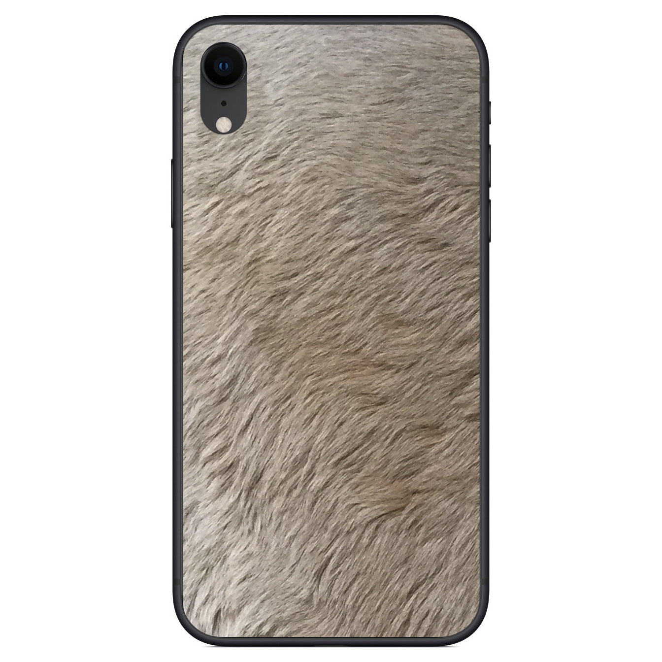 Kangaroo Hair iPhone XR Leather Skin
