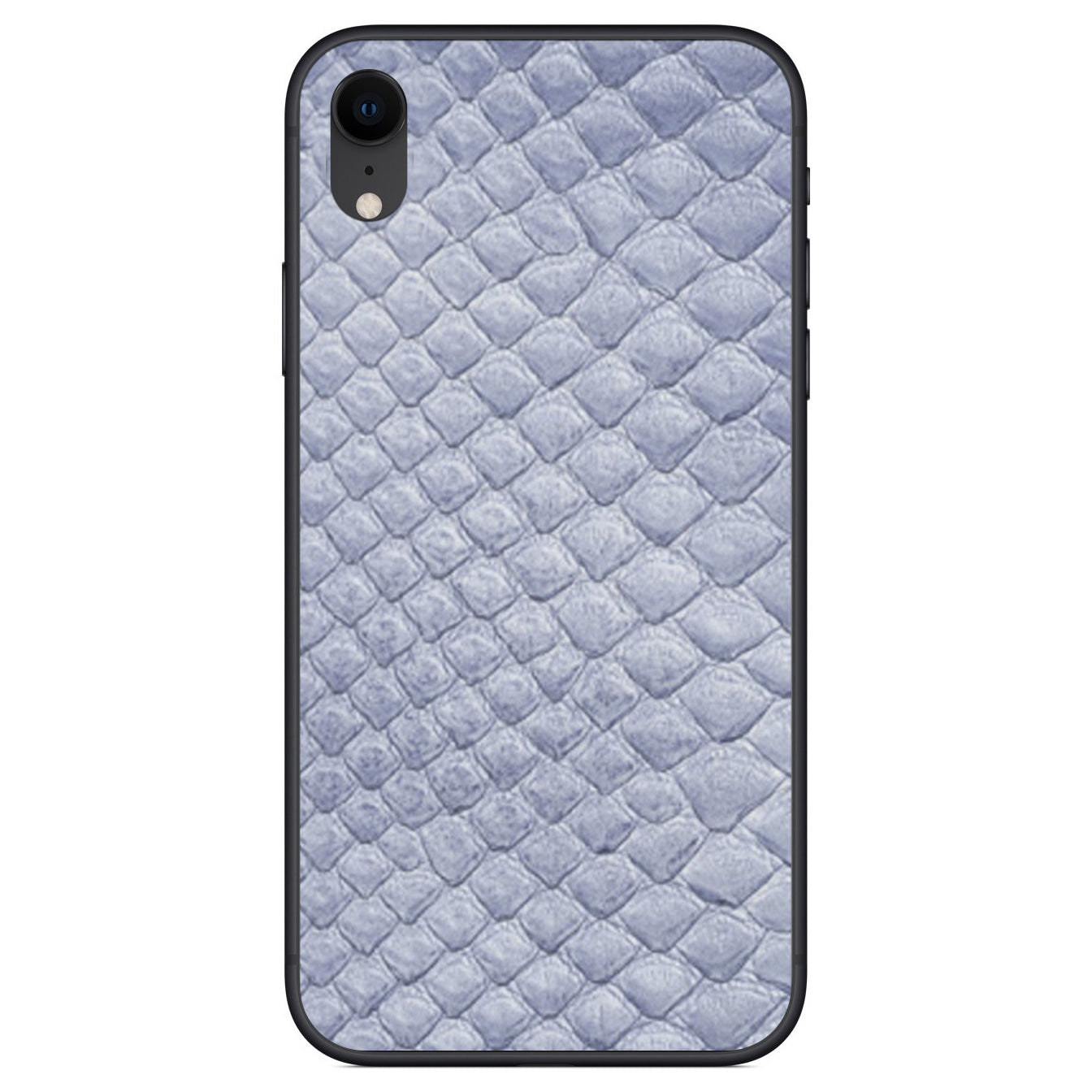 Sea Python Back iPhone XR Leather Skin