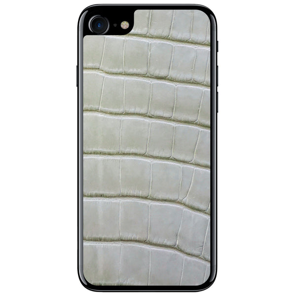 Laurel Green Alligator iPhone 7 Leather Skin