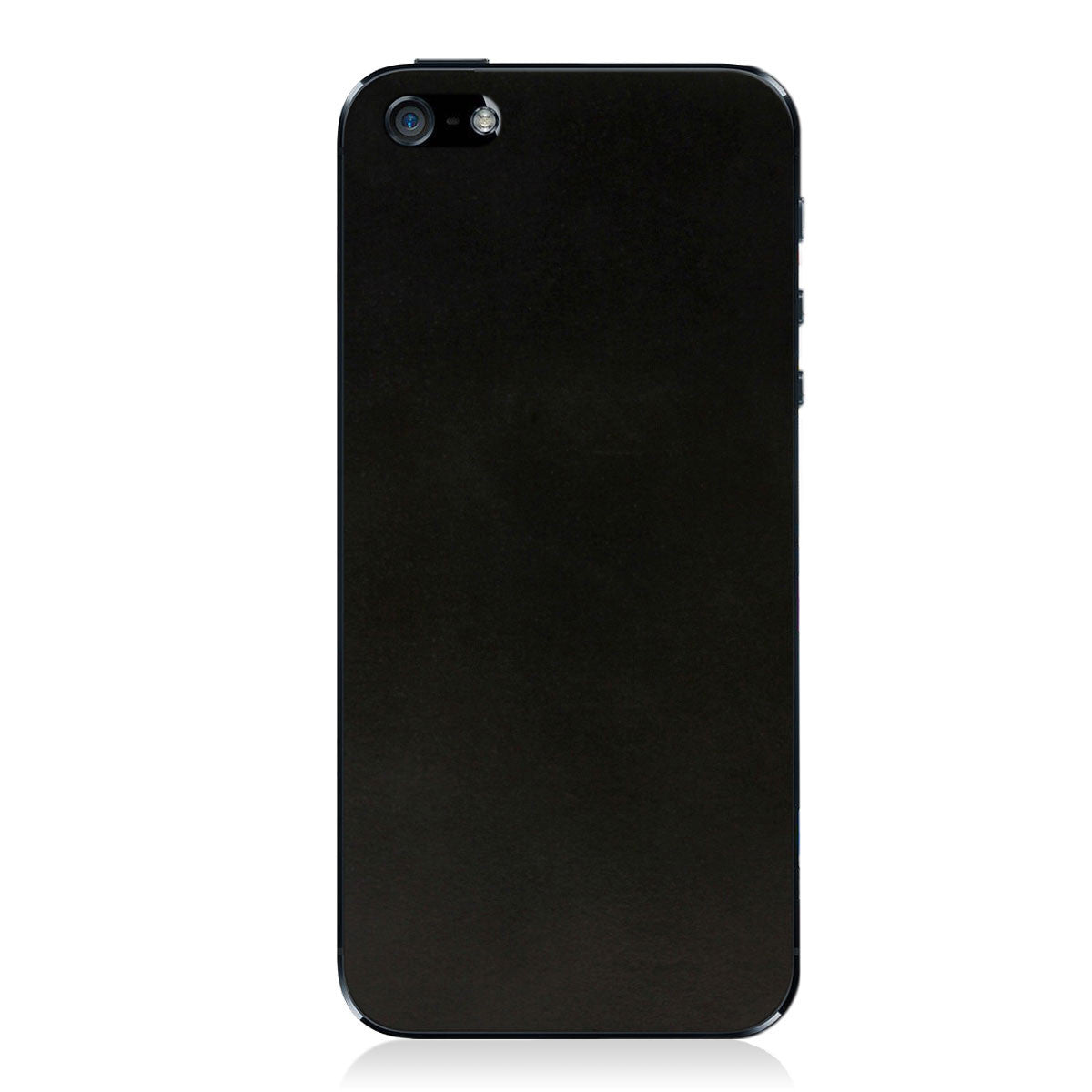 Matte Black iPhone 5 - 5S - SE Shell Cordovan Skin