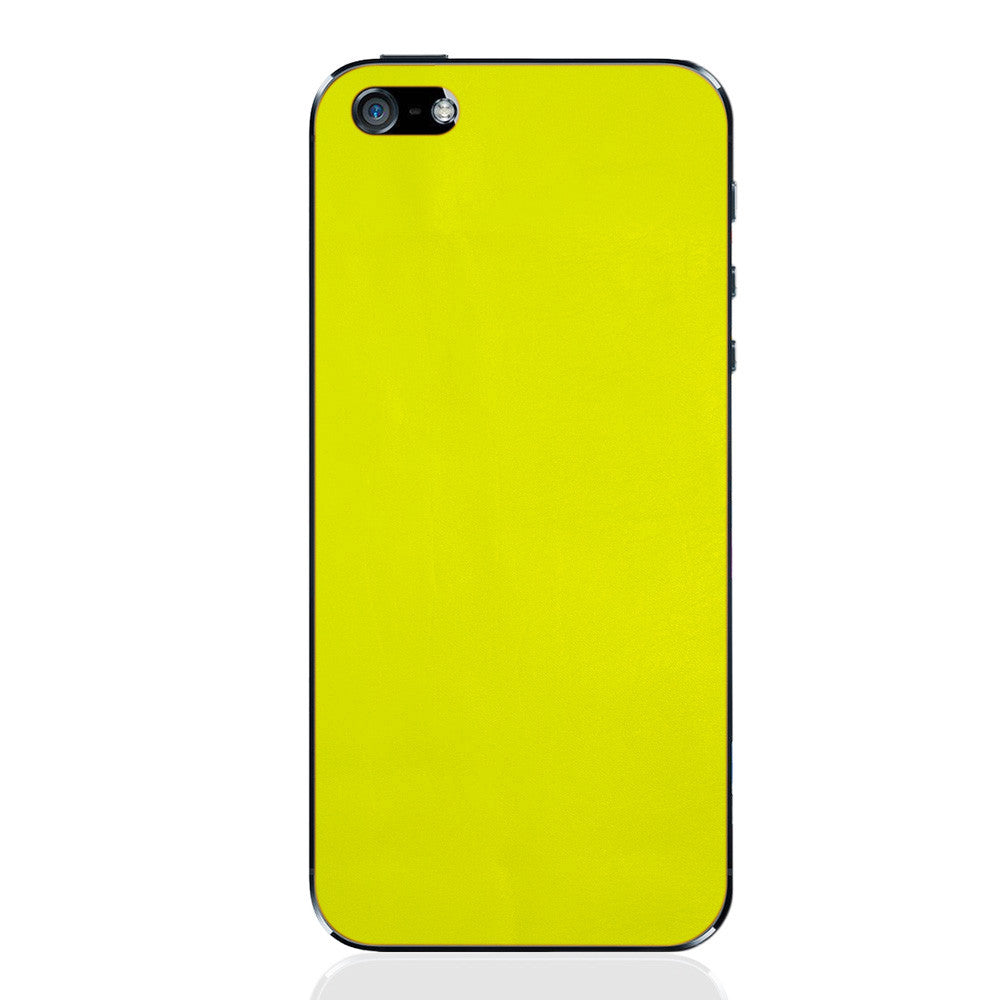 Pear iPhone 5 - 5S - SE Leather Skin