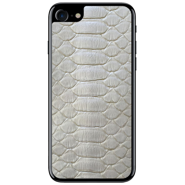 Pearl Python iPhone 8 Leather Skin