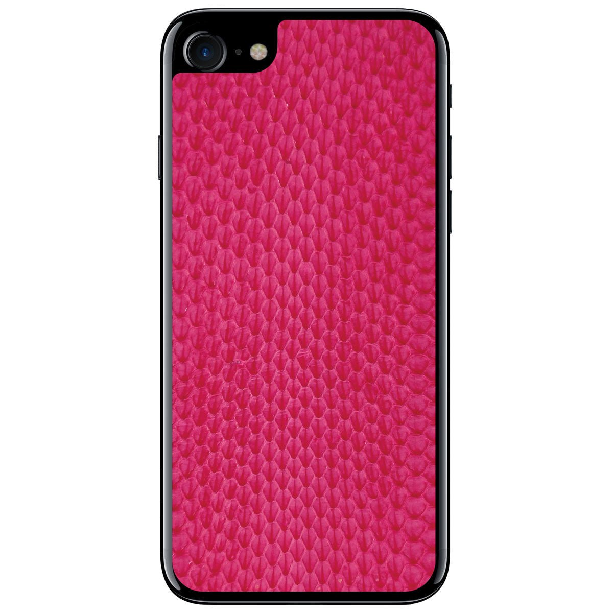 Pink Whip Snake iPhone 7 Leather Skin