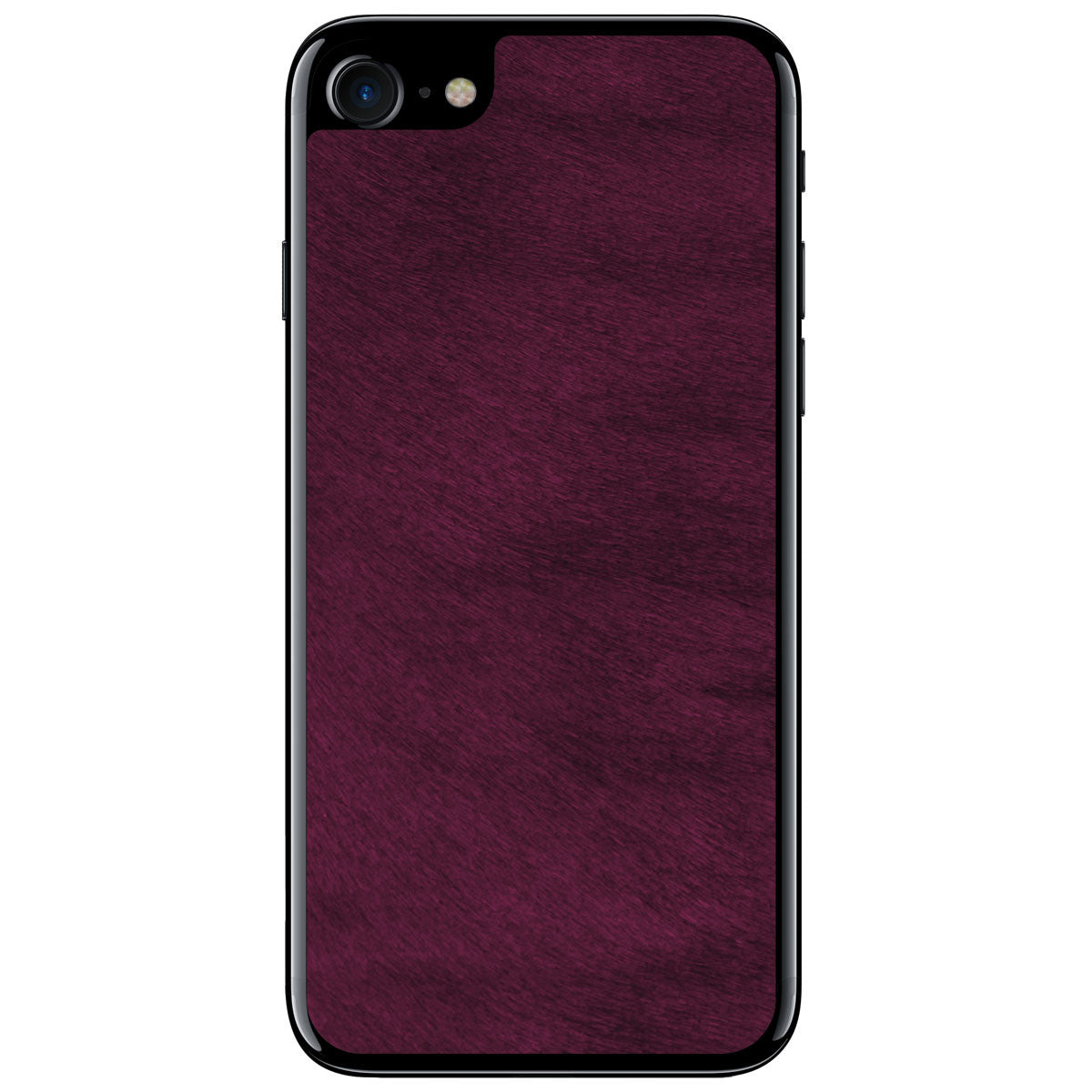 Violet Pony Hair iPhone 7 Leather Skin