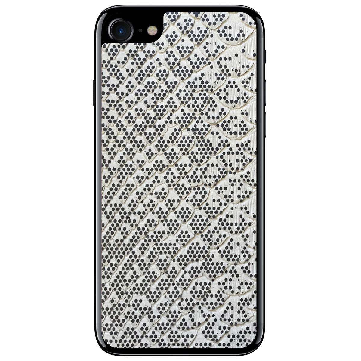 Pixelated Python iPhone 8 Leather Skin