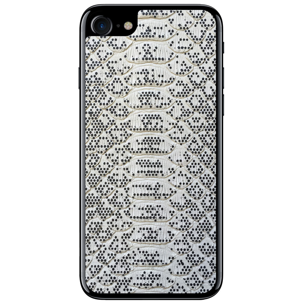 Pixelated Python iPhone 7 Leather Skin