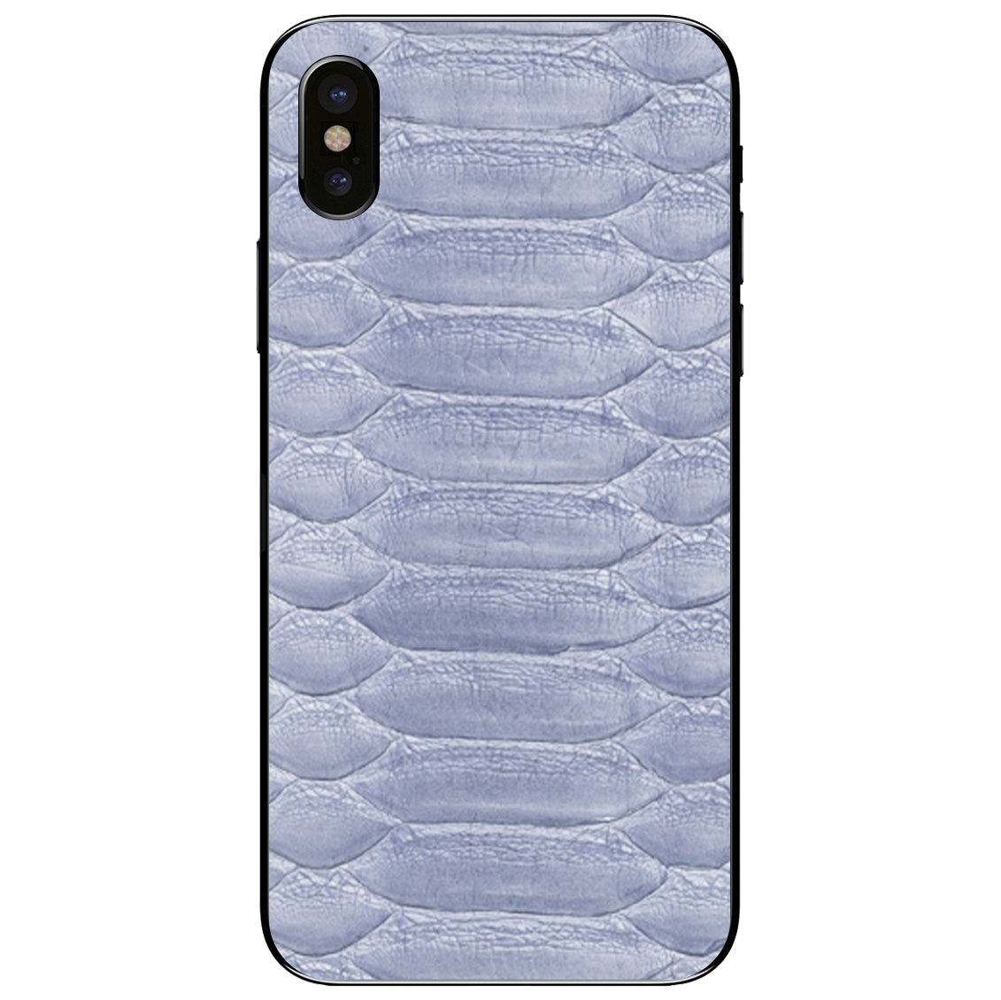 Sea Python iPhone XS Leather Skin