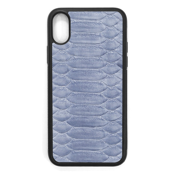 Sea Python iPhone XS Leather Case