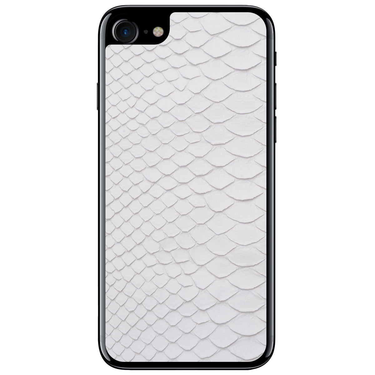 White Python iPhone 7 Leather Skin