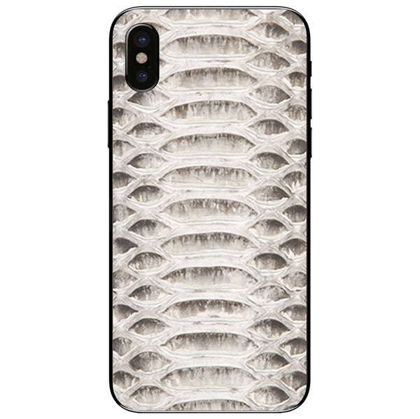 Python iPhone X Leather Skin