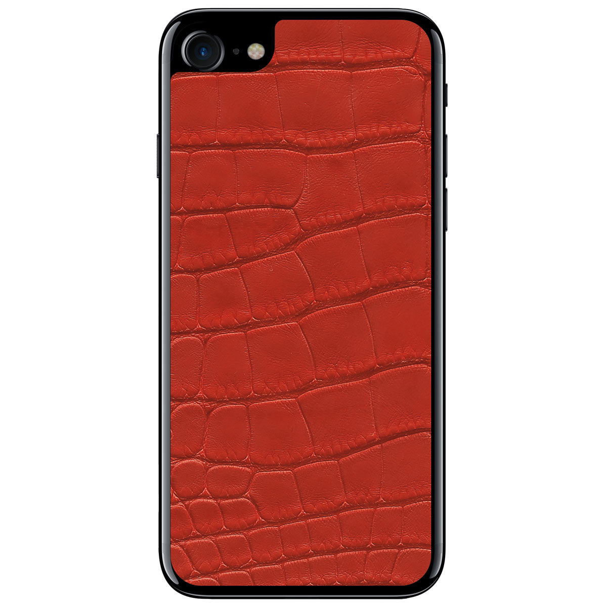 Red Alligator iPhone 8 Leather Skin