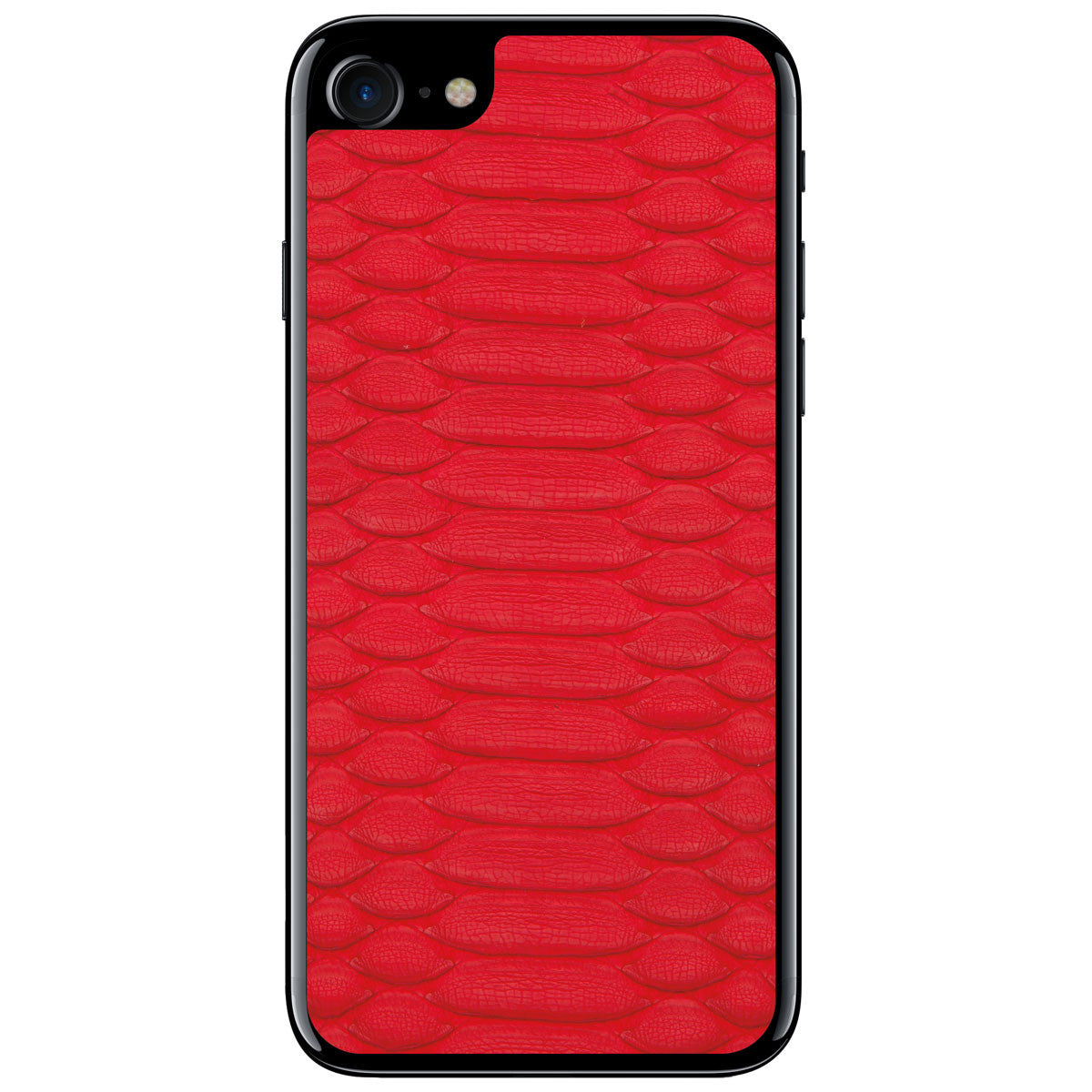 Red Python iPhone 8 Leather Skin